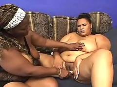 Stud takes care of big ebony chick black chubby porn