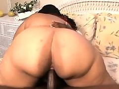 Black BBW taking good pussy massage black chubby porn