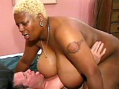 Chubby cutie with big tits is poked black chubby porn