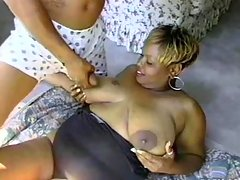 Experience with alluring fat ebony black chubby porn