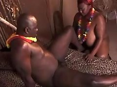 Lusty mature BBW gets real fuck and cum in mouth black chubby porn