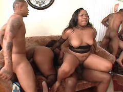 Fat ebony sluts fuck