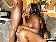 Black Beauty Gives Great Head black chubby porn