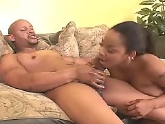Stud takes care of big black babe black chubby porn